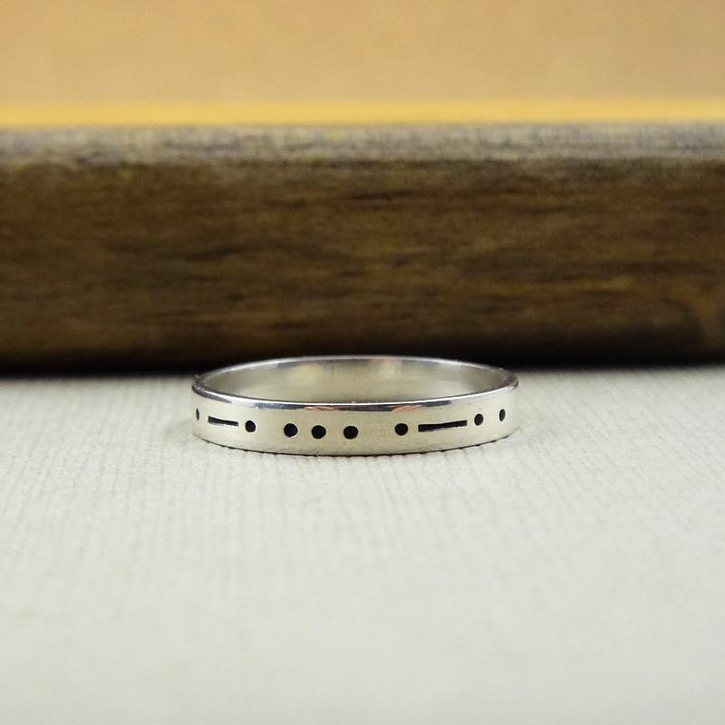 Morse Code Ring