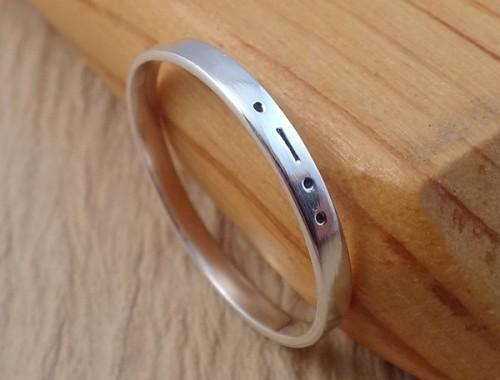 morse code initial ring