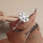 snowflake winter ring